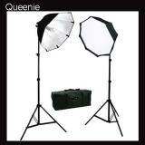 Rapid octagon softbox single socket 2 lights continuous Kit