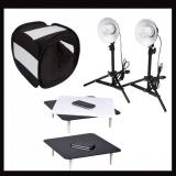 Studio in a box Photo Black Jewellery Riser Studio kit